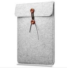 "2017 New Felt Laptop Sleeve Bag Notebook Case Computer Smart Cover Handbag For 11″ 12"" 13″ 15″ Macbook Air Pro Retina"