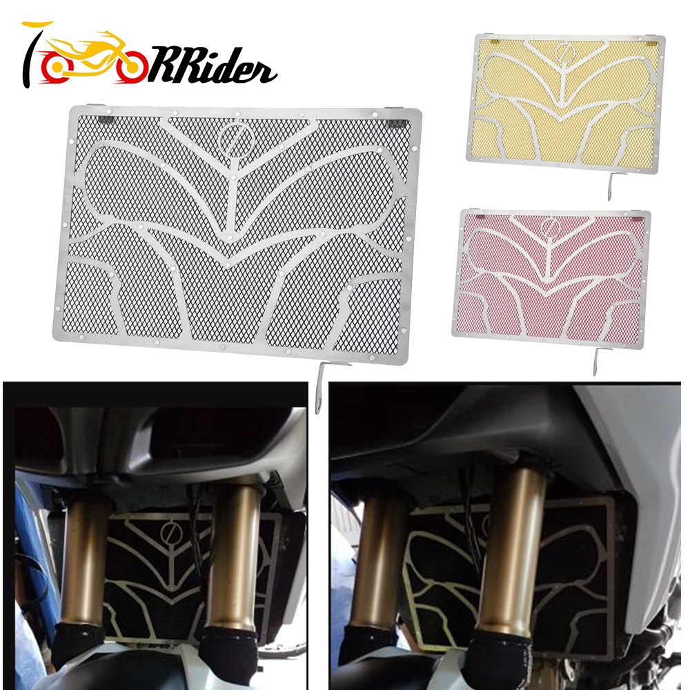 Moto Radiator Guard Water Oil Tank Coolant Grill Grille Net Mesh Cover Protector for 2010 2016