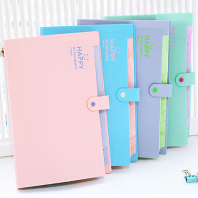 Expandable 12 Layers Documents Files Folders Bags A4 Paper Expanding