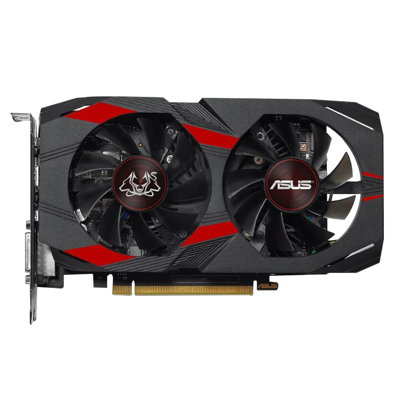 ASUS GeForce CERBERUS <font><b>GTX</b></font> 1050Ti <font><b>4GB</b></font> GDDR5 Gaming Video Card Graphics Card 7008MHz PCI-E 3.0 CERBERUS-GTX1050TI-A4G DVI HDMI DP image