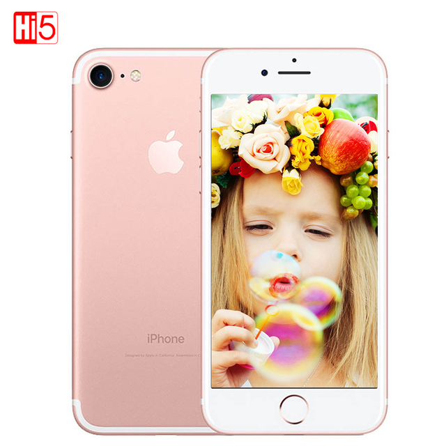 Unlocked Apple iPhone 7 Brand mobile Phone 2GB RAM 32/128GB/256GB ROM IOS 10 LTE 12.0MP Camera Quad-Core Fingerprint iphone7