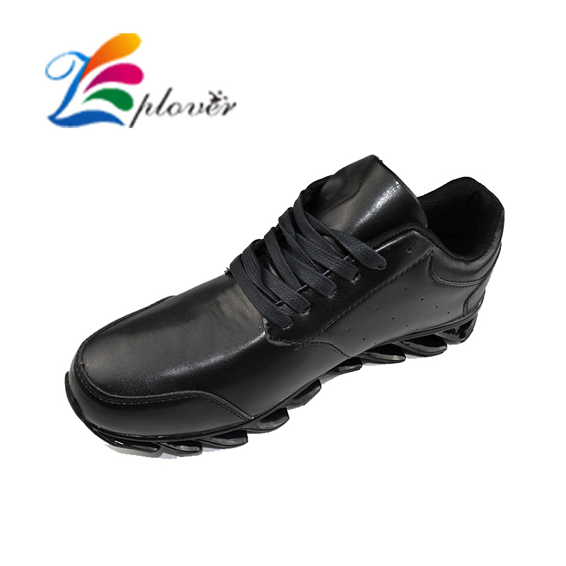 2016 New Blade Casual Shoes For Men Fashion Breathable Men Shoes Leather Casual Zapatos Spring Autumn Flat Shoes Zapatos Hombre 2016 new spring autumn breathable casual shoes for men british style fashion men flat shoes blade mens trainers zapatos hombre