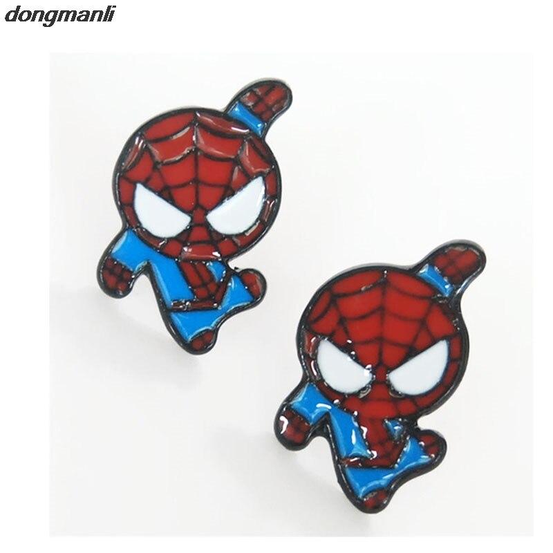 WS0366 dongmanli Cartoon Superheros Spiderman Căpitane America de - Bijuterii de moda