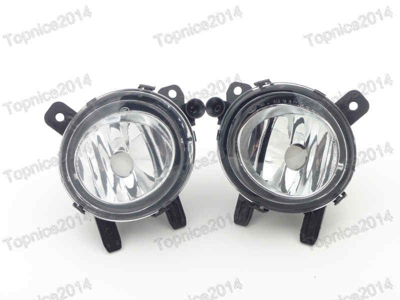 2Pcs Car front bumper driving fog lights fog lamps pair For BMW 3-Series F35 2012-2014