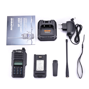 Image 5 - 2 pièces dorigine Baofeng IP67 BF A58 Marine étanche talkie walkie double bande Woki Toki Radio bidirectionnelle Amador UV 9R émetteur récepteur Hf