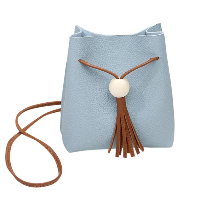 Women\'S Handbags Shoulder Bags Women Tassels Bucket Bags Cross Body Bag Coin Phone Mini Bag Bolsa Feminina A8