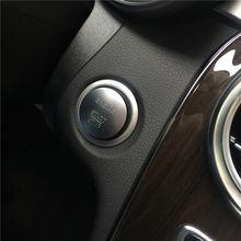 Keyless Go Start Stop стильная кнопка Зажигания для автомобиля кнопочный переключатель зажигания для Mercedes Benz C200 A45 G55 S63 S350 ML350 GLK350 автомобильные аксессуары