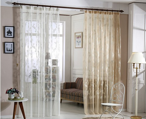 Aliexpress.com : Buy Chinese curtains for living room modern sheer ...