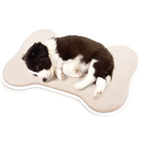 Absorbent Memory Foam Pet Dog Cat Food and Water Bowl Feeding Mat for Dogs Cats