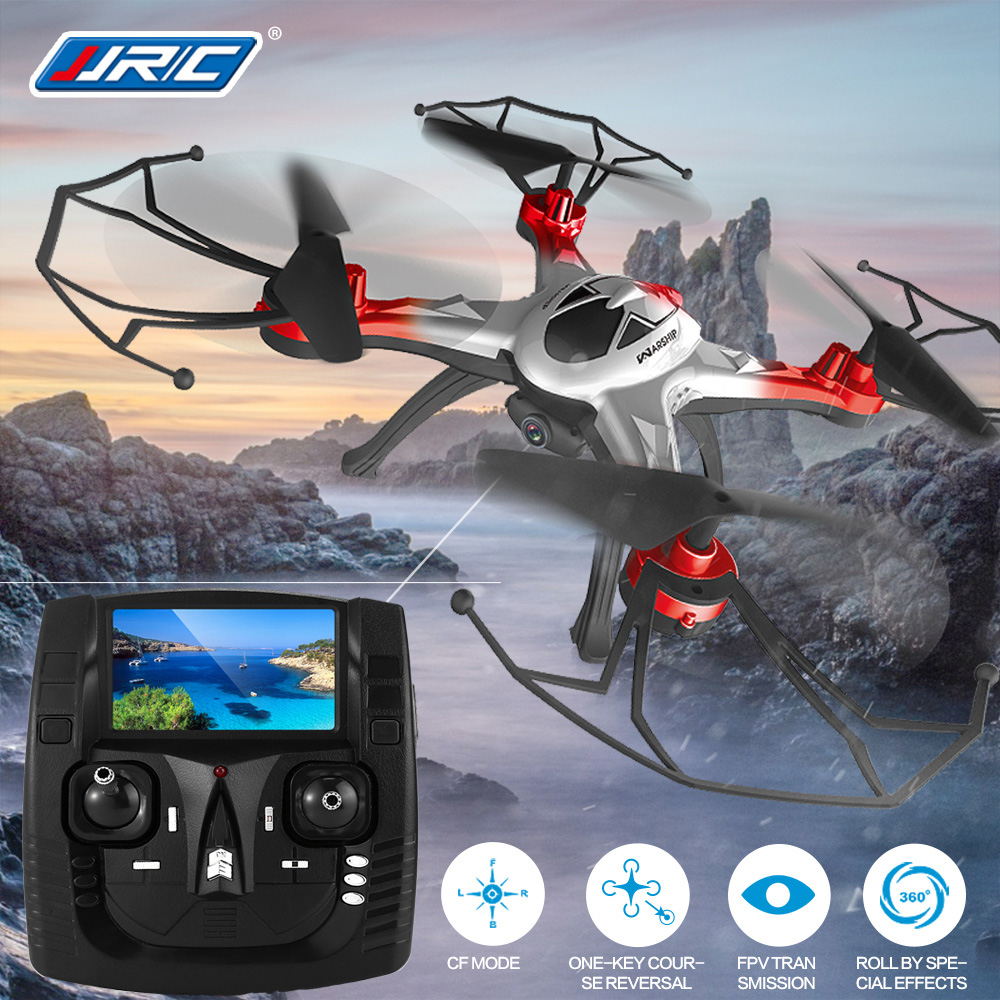 JJRC H29G 5.8G FPV With 2.0MP HD Camera Headless Mode 2.4G 6-Axis RC Quadcopter RTF VS JJRC H9D H8C X6SW H6W jjr c jjrc h26wh wifi fpv rc drones with 2 0mp hd camera altitude hold headless one key return quadcopter rtf vs h502e x5c h11wh