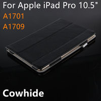 Case Cowhide For IPad Pro 10 5 Inch New 2017 Protective Smart Cover Genuine Leather Tablet