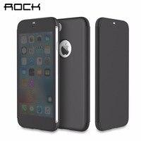ROCK Dr V Series For IPhone 7 Flip Case Full View Transparent WIndow Smart Flip Case