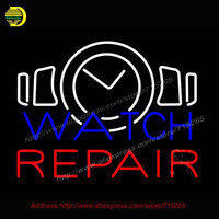 Watch Repair Neon Sign Handcrafted Bulb GlassTube Club Decorate Sign Store Display Tube Glass Neon Art