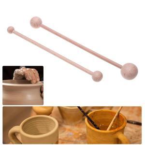 2pcs Durable Ceramic Clay Pott