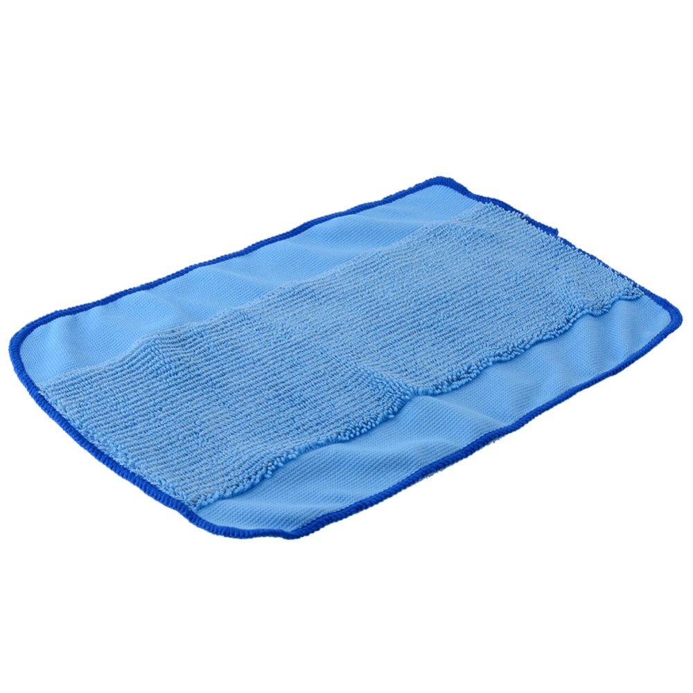 5 pieces Washable Reusable Microfiber Mopping Cloths for iRobot Braava 380t 320 Mint 5200 Robotic Home Essential new 3pcs deep clean blue microfiber replacement washable wet mopping pads for braava jet 240 cleaner