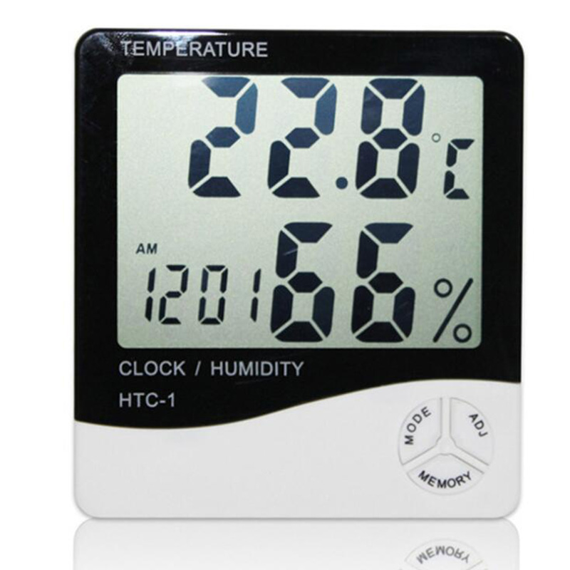 BEYLSION Digital Temperature Humidity Thermometer Hygrometer Electronic Thermometer Humidity Monitor For Plant Grow Lamp Tent (13)