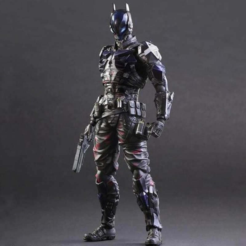 anime cartoon doll Batman Arkham Knight 1/6 scale painted figure Play Arts Batman PVC Action Figure Collectible Model Toy T5784 1 6 scale figure doll us america president donald trump with 2 headsculpts 12 action figure doll collectible model plastic toy