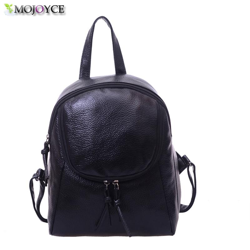ᐅВодонепроницаемый Для женщин рюкзак модные кожаные Сумки на плечо ... 4c16a8a97fc