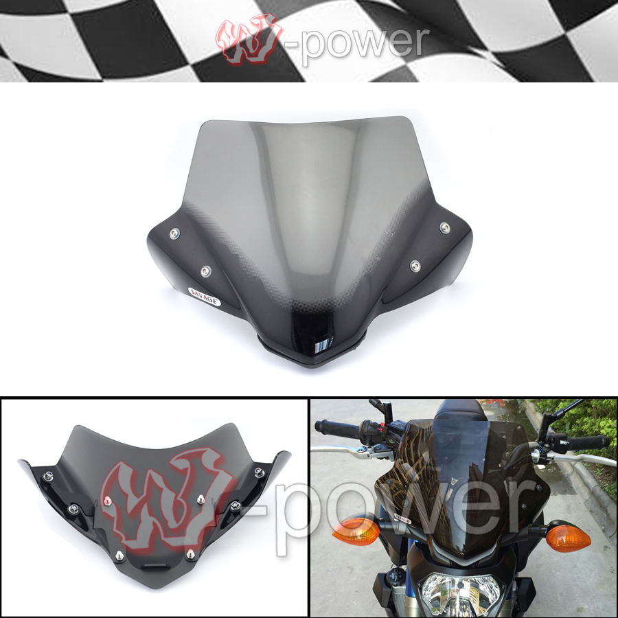 new motorcycle windshield windshield pare brise smoke fite. Black Bedroom Furniture Sets. Home Design Ideas