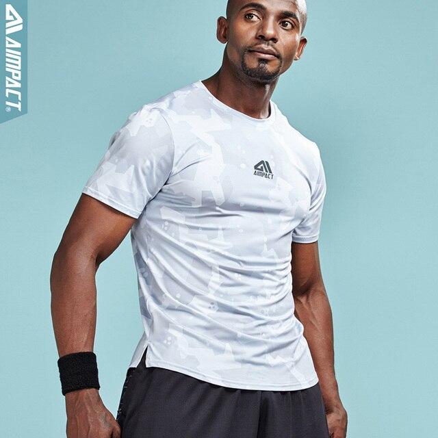 Apontar Fit T-shirt dos homens Tees Musculação Crossfit Marca Camisas para Os Homens Homem Roupas De Compressão Treino Equipada AM1058 Gymi