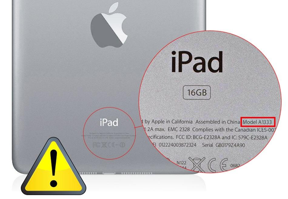 Check iPad model