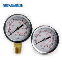 NBSANMINSE SMCB General Purpose Pressure Gauge 1/4