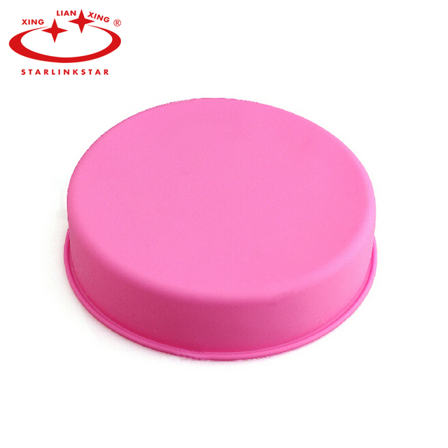 24*5cm High-Quality Round Shaped Cake Mold Silicone Baking Mold Muffin Cases Cupcake Liner Baking Pan Cakes Bakeware Mould