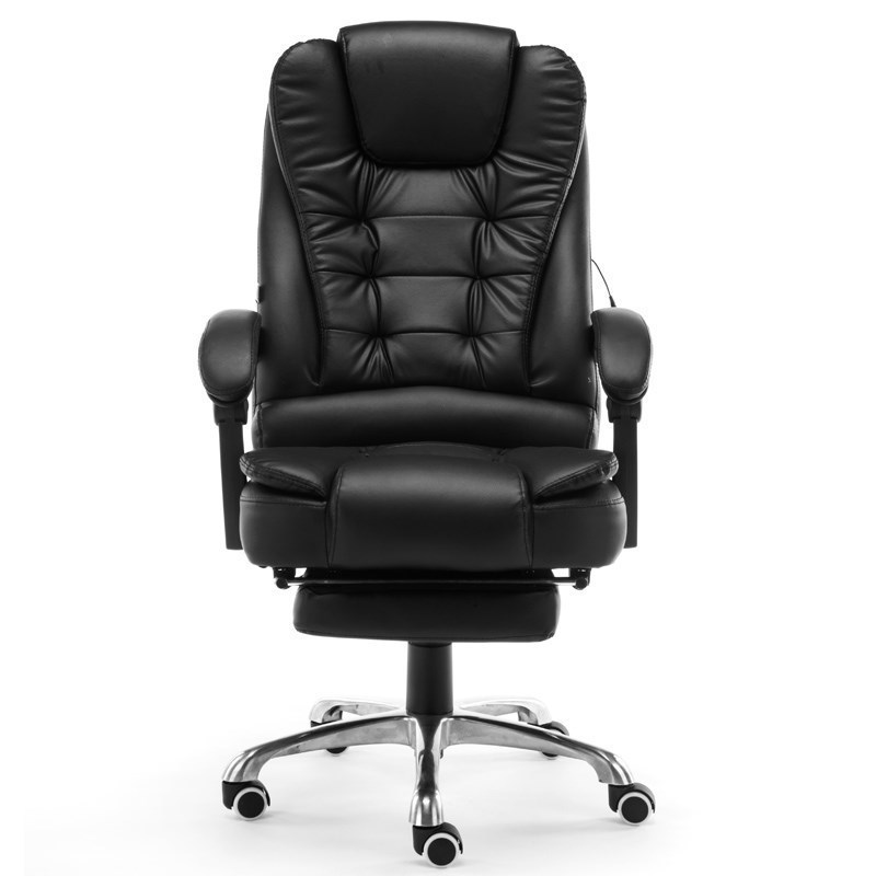High Quality Esports Live Boss Poltrona Synthetic Leather Chair Ergonomics Wheel With Footrest Massage Can Lie Office Furniture