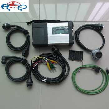 Newest mb star c5 for car and truck diagnosis without software only mb star sd connect c5 multiplexer with wifi function