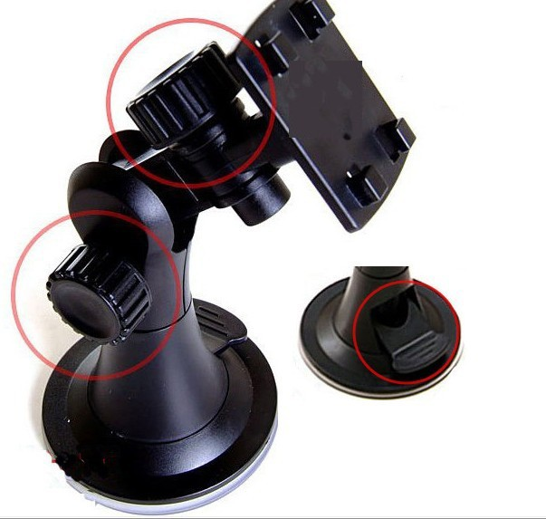 Universal Car Holder for GPS,Mp3,Smart Phone 360Rotatable with Detail Box DHL Free