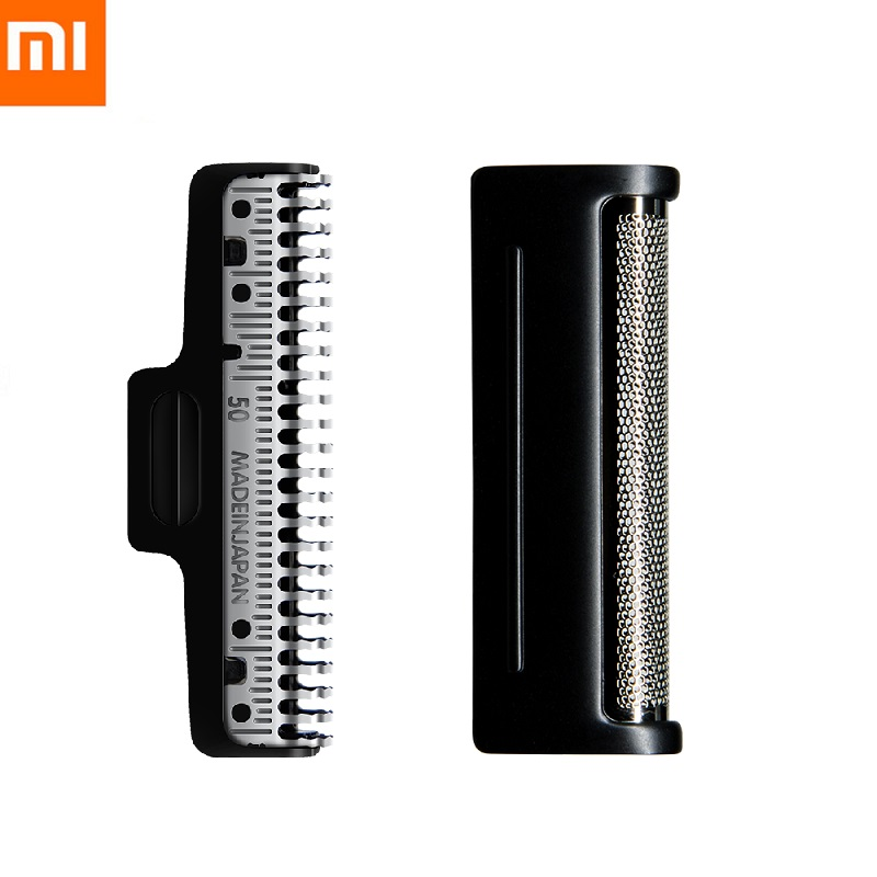 Original Xiaomi Mijia Portable Electric Shaver Head MJTXD01XM Shaver Cutter Head Replace Head