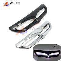 Batwing Fairing LED Lighted Vent Accent For Harley Electra Glide Ultra Limited Low FLHTKL Road Glide