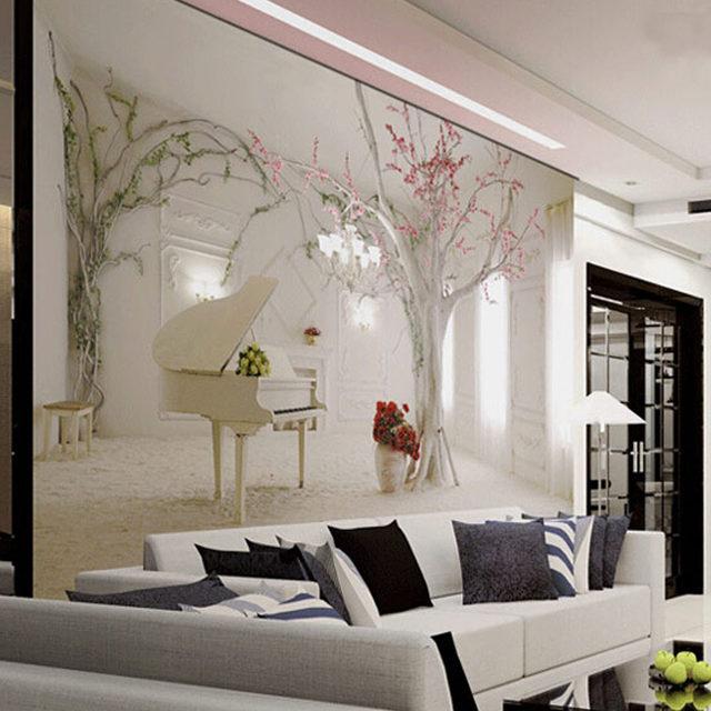 Emejing murales camera da letto gallery modern home design