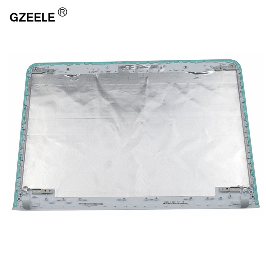 GZEELE New For Sony vaio SVE14 SVE14A SVEA100C SVE14A16ECB 16ECP SVE14AE13L SVE14AJ16L series LCD Back Cover laptop white TOUCH объектив премиум sony sel1670z ae
