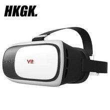 HKGK VR очки 2,0 3D фильм игровой шлем виртуальной реальности коробка для iPhone huawei Xiaomi 4,0 «-6,0» смартфон подарок на день рождения