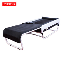 BYRIVER Factory Wholesale 2018 New Design Electric Korean 3D APMS Auto Spine Scan V3 Foldable Sliding Therapy Massage Bed