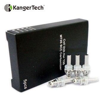 Original 5pcs Original Kangertech T3S/MT3S Coil Unit for KangerTech T3S EGo/MT3S 3ml BCC EGo Clear Cartomizer E-cig Vaporizer