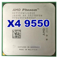 Original AMD CPU Phenom X4 9550 Processor 2 2G AM2 940 Pin Dual CORE 2MB L2