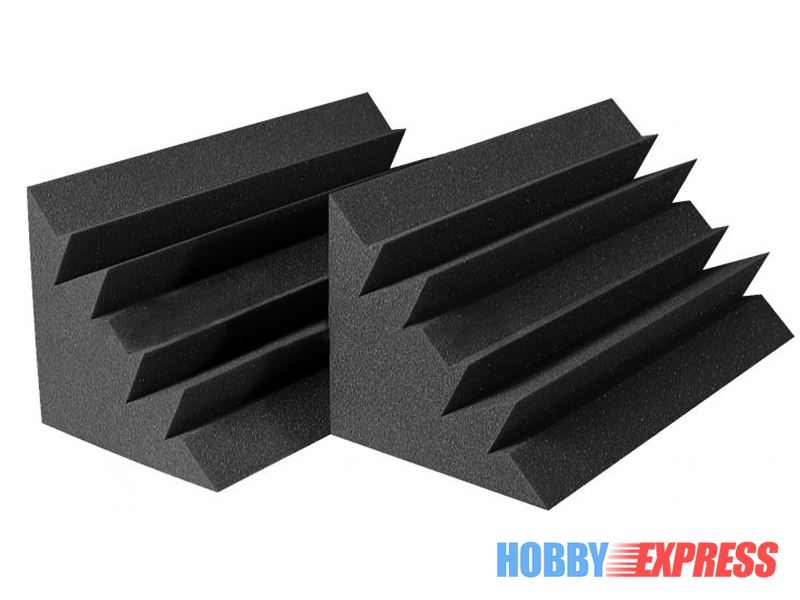 Arrowzoom 36 pcs Bass Traps Acoustic Foam Sound Absorption Treatment 12 x 12 x 24 cm (4.7 x 4.7 x 9.4 in) KK1133