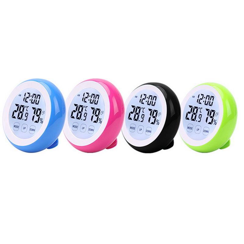 Werkzeuge Modestil Hoomall Digital Lcd Display Thermometer Hygrometer Runde Drahtlose Elektronische Temperatur Feuchtigkeit Meter Wetter Station Tester Mangelware