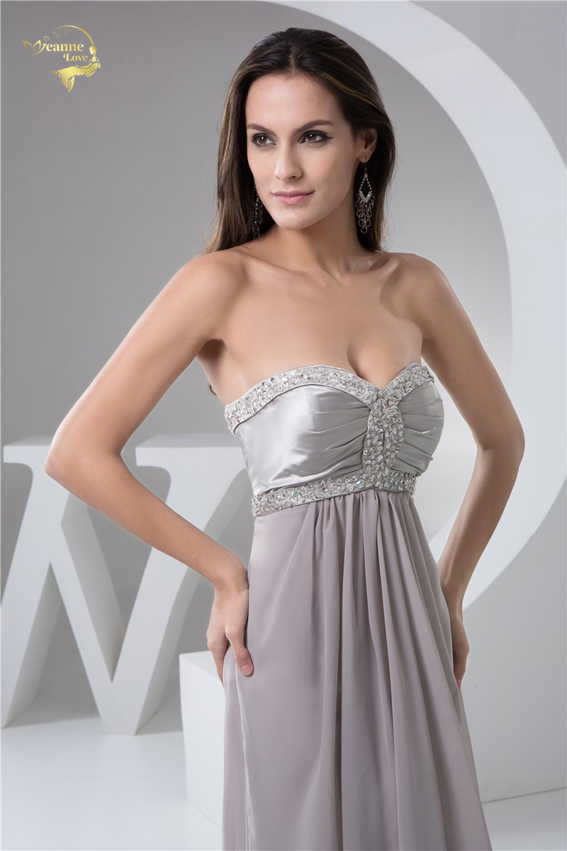Nouveau Élégant Longueur De Plancher Perles Robes De Soirée De Bal - Habillez-vous pour des occasions spéciales - Photo 5