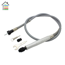 Universal 105cm Aluminum Flexible Flex Shaft with Keyless Chuck 1/8 inch 3.175mm Connector Electric Grinder Power Rotary Tool