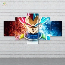 Dragon Ball Anime Wall Art HD Prints Canvas Painting Modular Picture And Vintag Poster Home Decor 5 PIECES