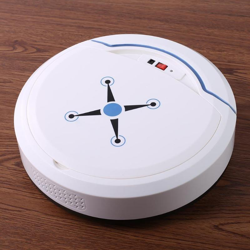 Smart Robot Vacuum Cleaner Auto Super Suction Vacuum Cleaner Robot Sweeper Cleaning Machine Home Cleaner with Storage Box super cleaning without rolling brush robot vacuum cleaner kk8