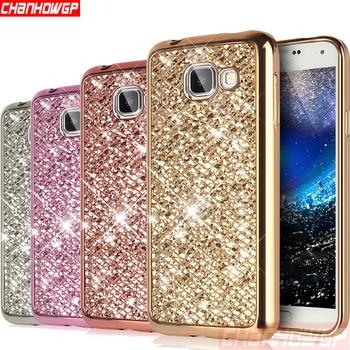 Silikonowa obudowa Samsung Galaxy - Kryształki