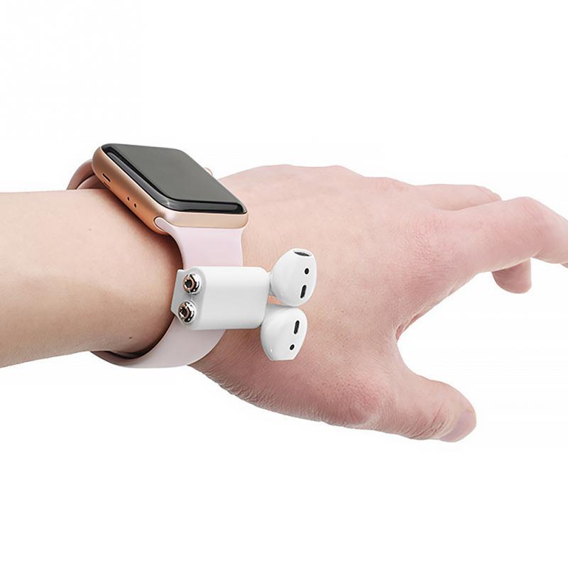 Professional Silicone Strap Case Airpod Holder Bluetooth