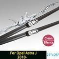 """Cuchilla de limpieza para Opel Astra J (desde 2010 en adelante) 27 """"+ 25"""" R ajuste push button tipo wiper armas solamente HY-011"""