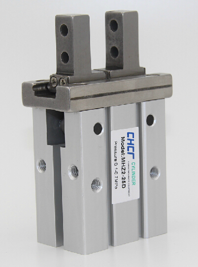 все цены на MHZ2-32D parallel finger cylinder manipulator small pneumatic finger of small pneumatic cylinder онлайн