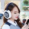 Autumn Winter Fashion Music Earmuffs New Women Girl Winter Warm Kint Earwarmers Earlap Ear Muffs Warmer Headband