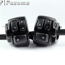 PAZOMA 1 Pair Motorcycle 1 Handlebar Control Switches Black Wiring Harness For 1996 2012 HARLEY SOFTAIL_220x220 popular motorcycle wiring harness buy cheap motorcycle wiring harley sportster wiring harness for sale at alyssarenee.co